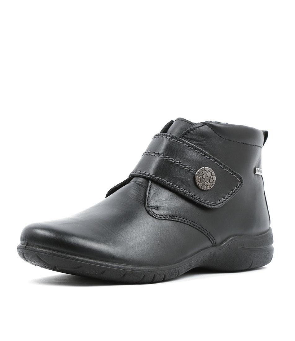 Josef Seibel Fabienne 19 Schwarz Ankle Boots