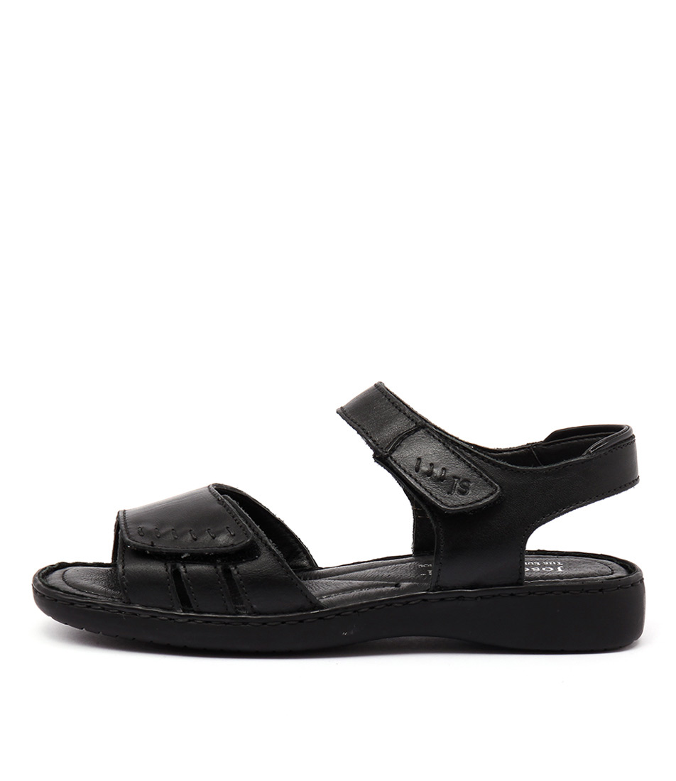 Josef Seibel Lisa 01 Schwarz Sandals