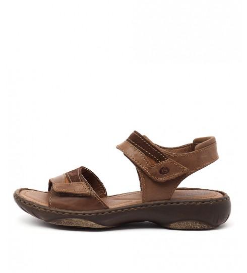 Buy Josef Seibel Debra 19 Castagne Heeled Sandals online with free shipping