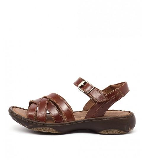 Josef Seibel Debra 23 Camel Sandals