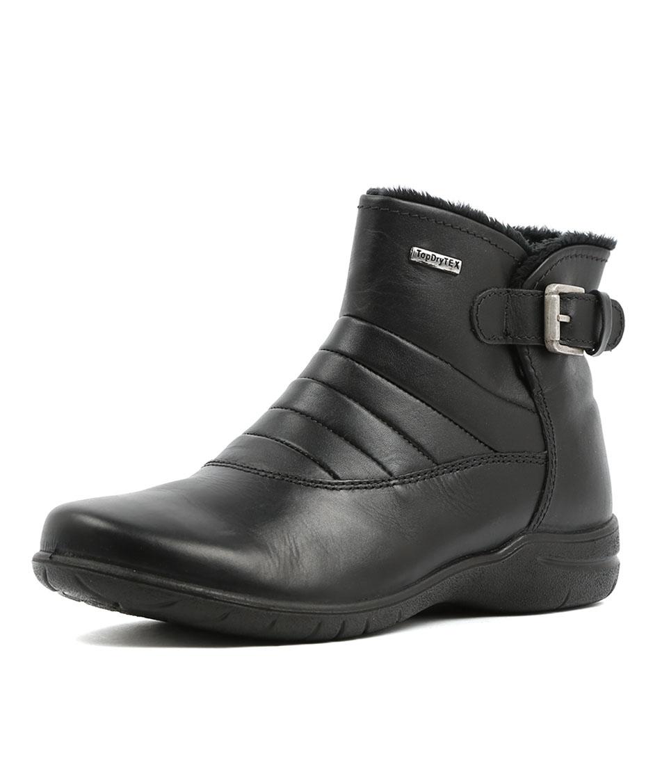 Josef Seibel Fabienne 53 Schwarz Casual Ankle Boots
