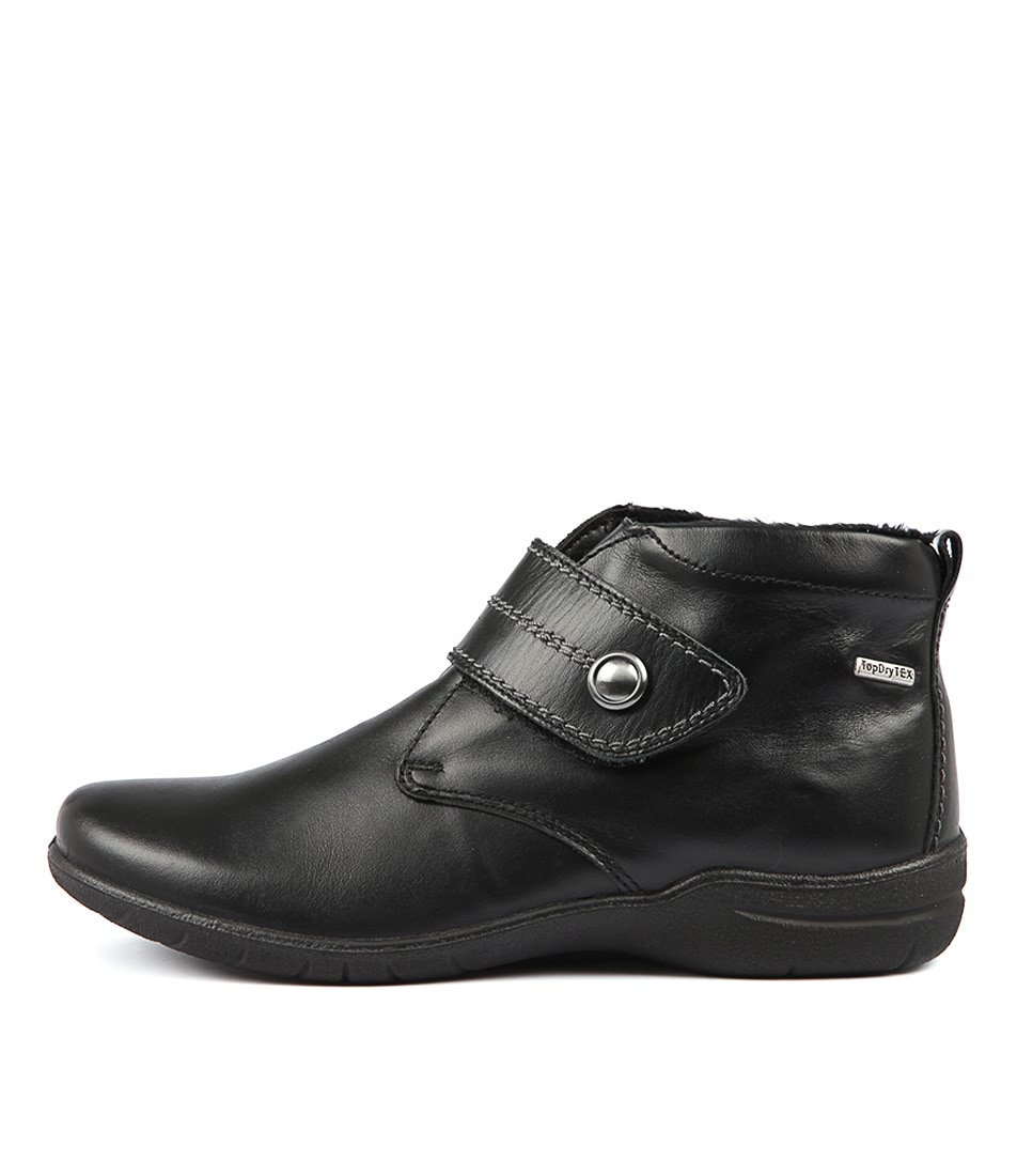 Buy Josef Seibel Fabienne 55 Black Ankle Boots online with free shipping