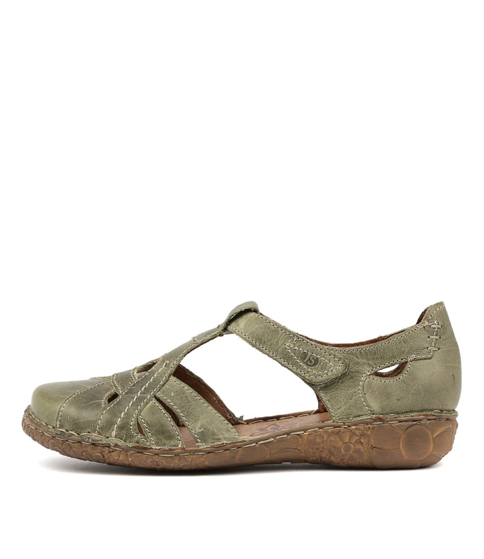 Buy Josef Seibel Rosalie 29 Olive Flats online with free shipping