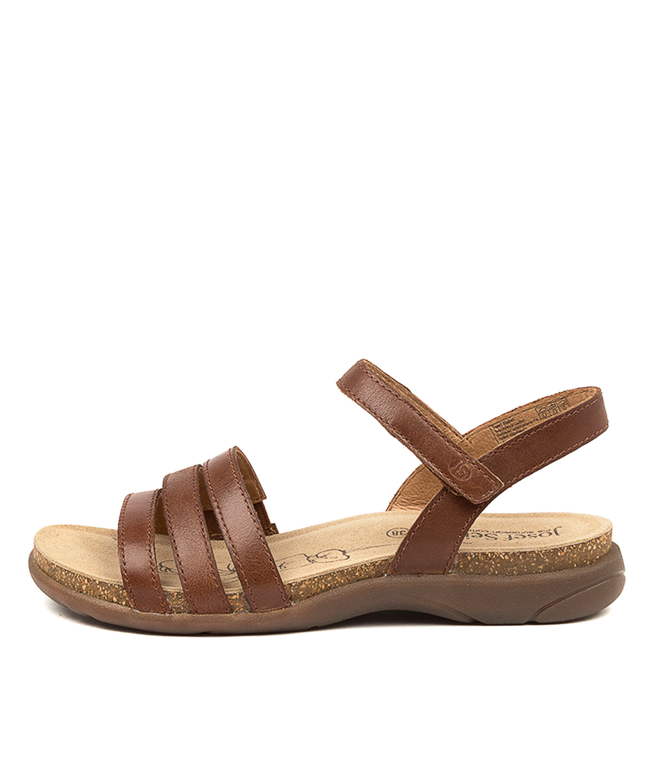 Buy Josef Seibel Riley 01 Js Camel Flat Sandals online with free shipping