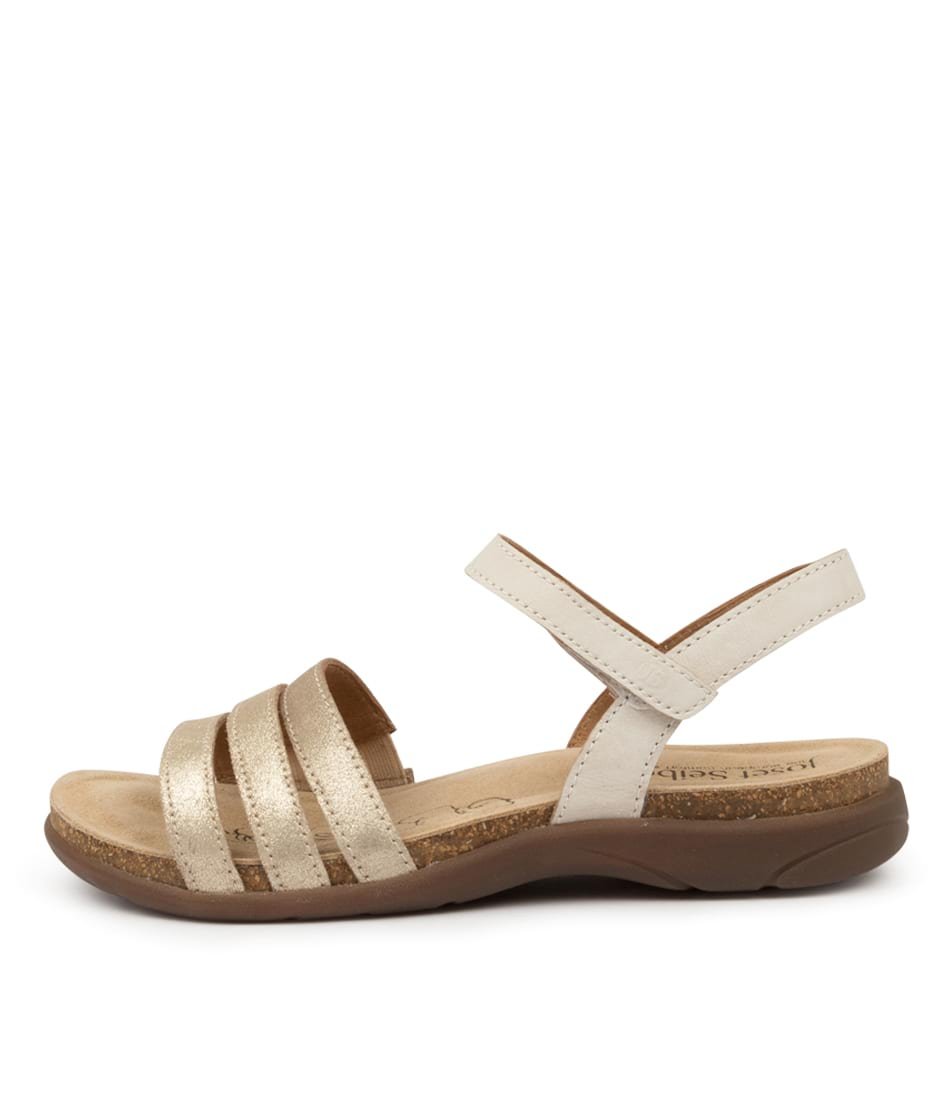 Buy Josef Seibel Riley 01 Js Sand Kombi Flat Sandals online with free shipping