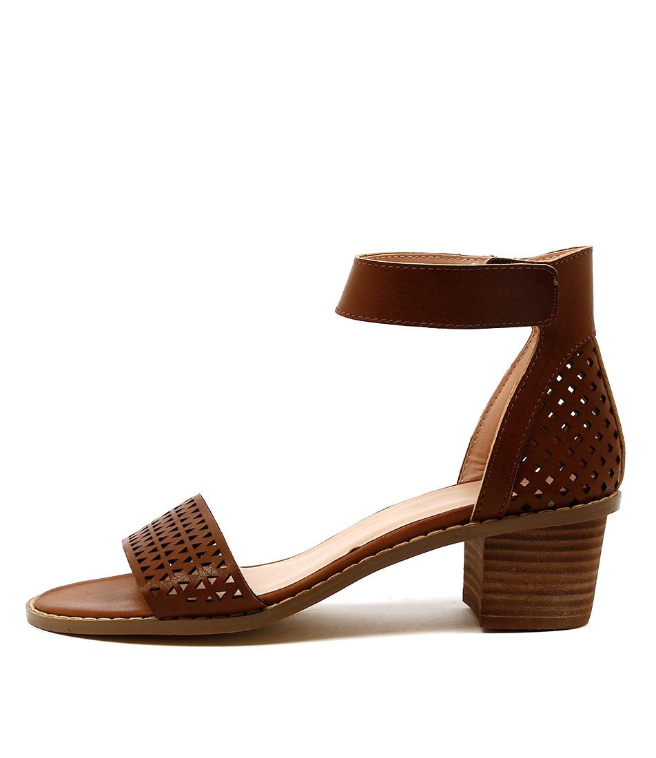 Ko Fashion Kallum W Brandy Dress Heeled Sandals