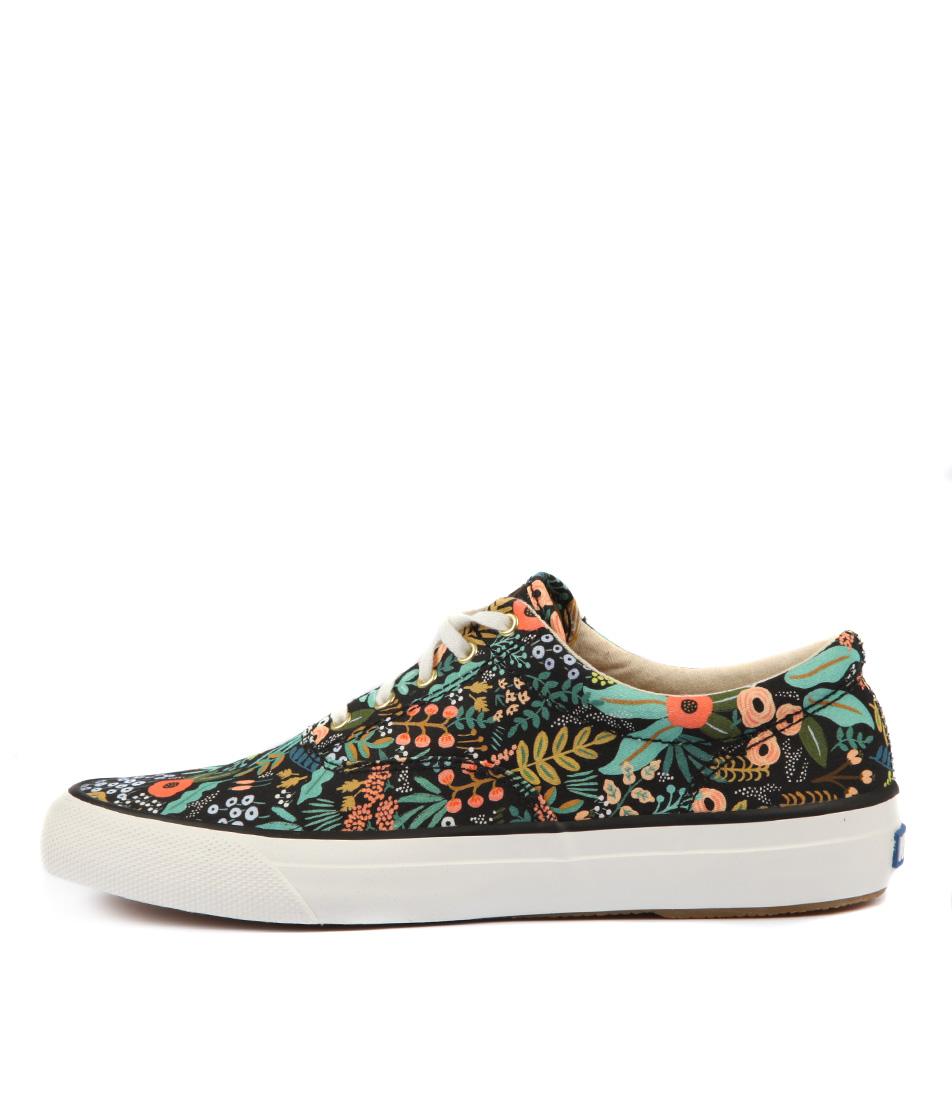 Keds Anchor Lourdes Floral Black Sneakers