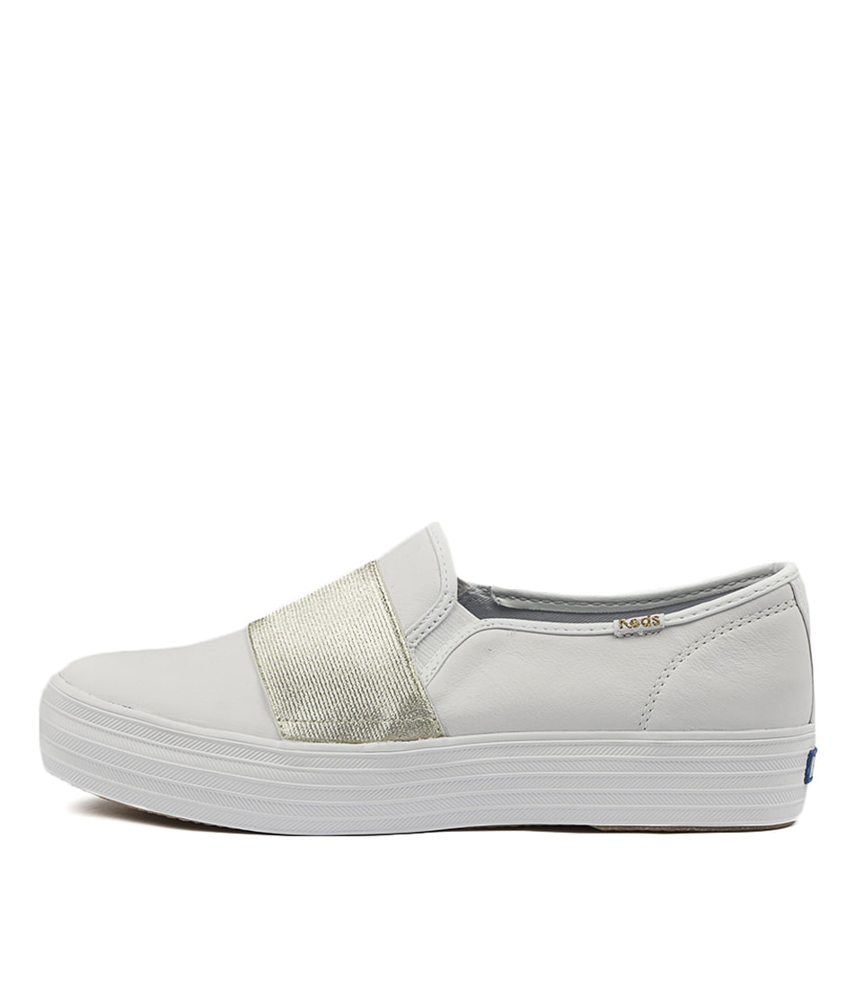 Keds Triple Bandeau White Sneakers