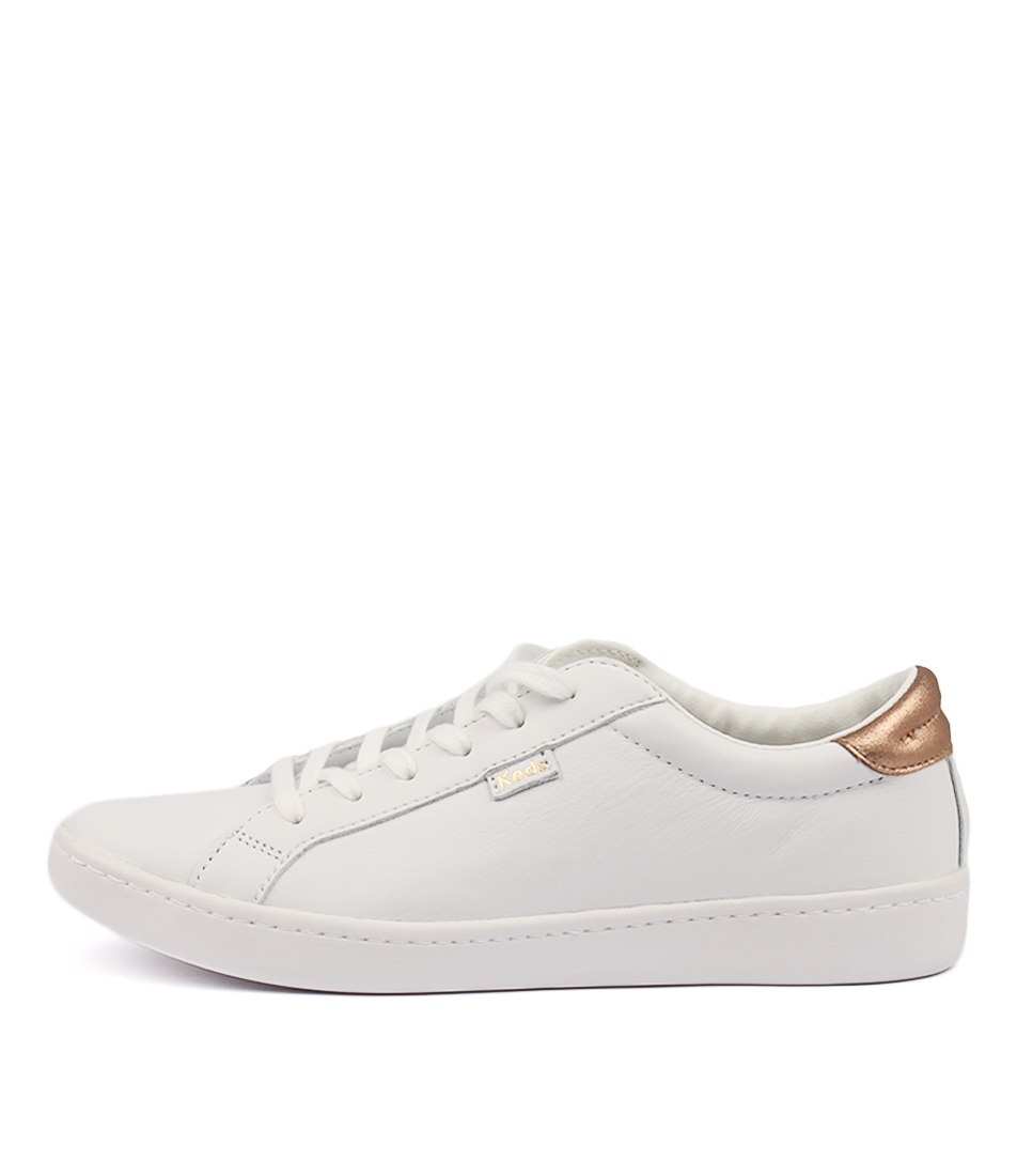 Keds Ace White Rose Gold Sneakers