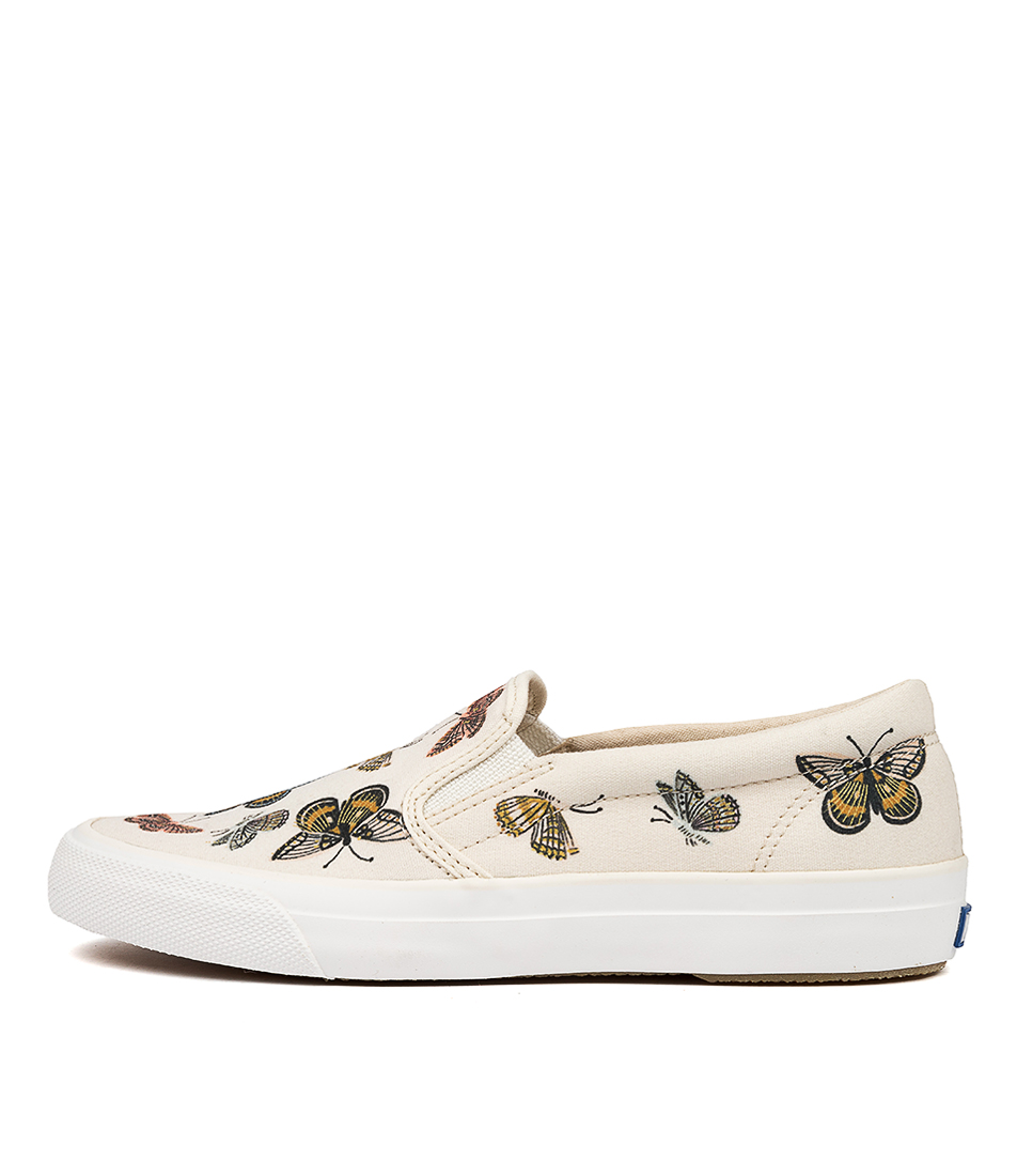 Buy Keds Anchor Slip Rifle Paper Ke White Manarc Sneakers online with free shipping