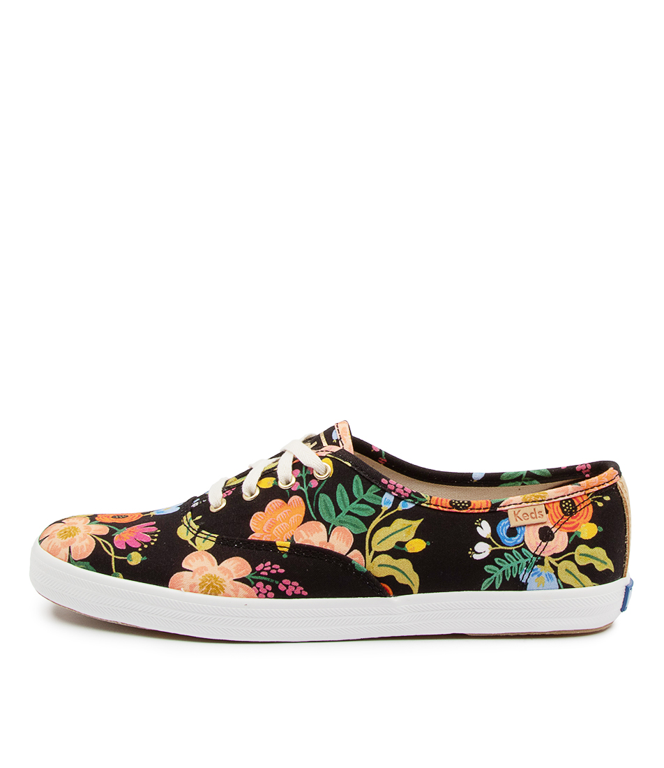 Buy Keds Champion Canvas Rpc Ke Lively Floral Sneakers online with free shipping