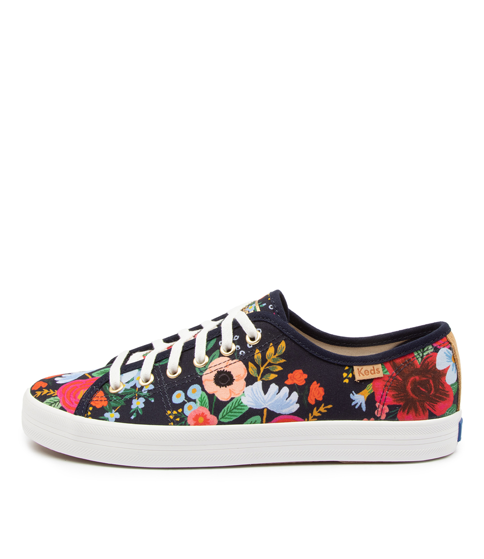 Buy Keds Kickstarts Canvas Rpc Ke Wild Rose Sneakers online with free shipping