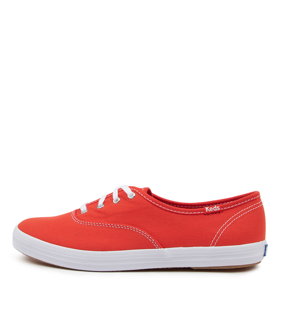 Buy Keds Champion Organic Ke Aura Red Sneakers online with free shipping