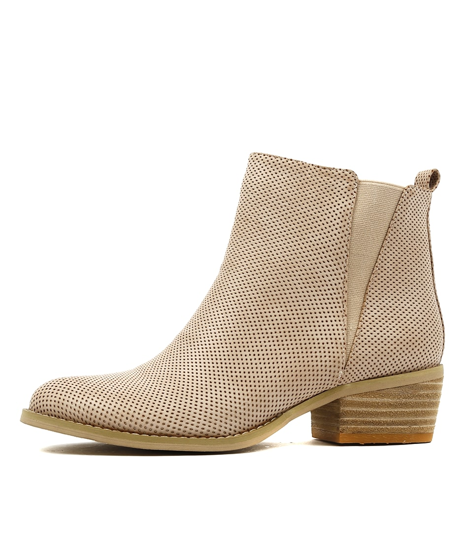 Ko Fashion Ellery W Blush Casual Ankle Boots buy  online