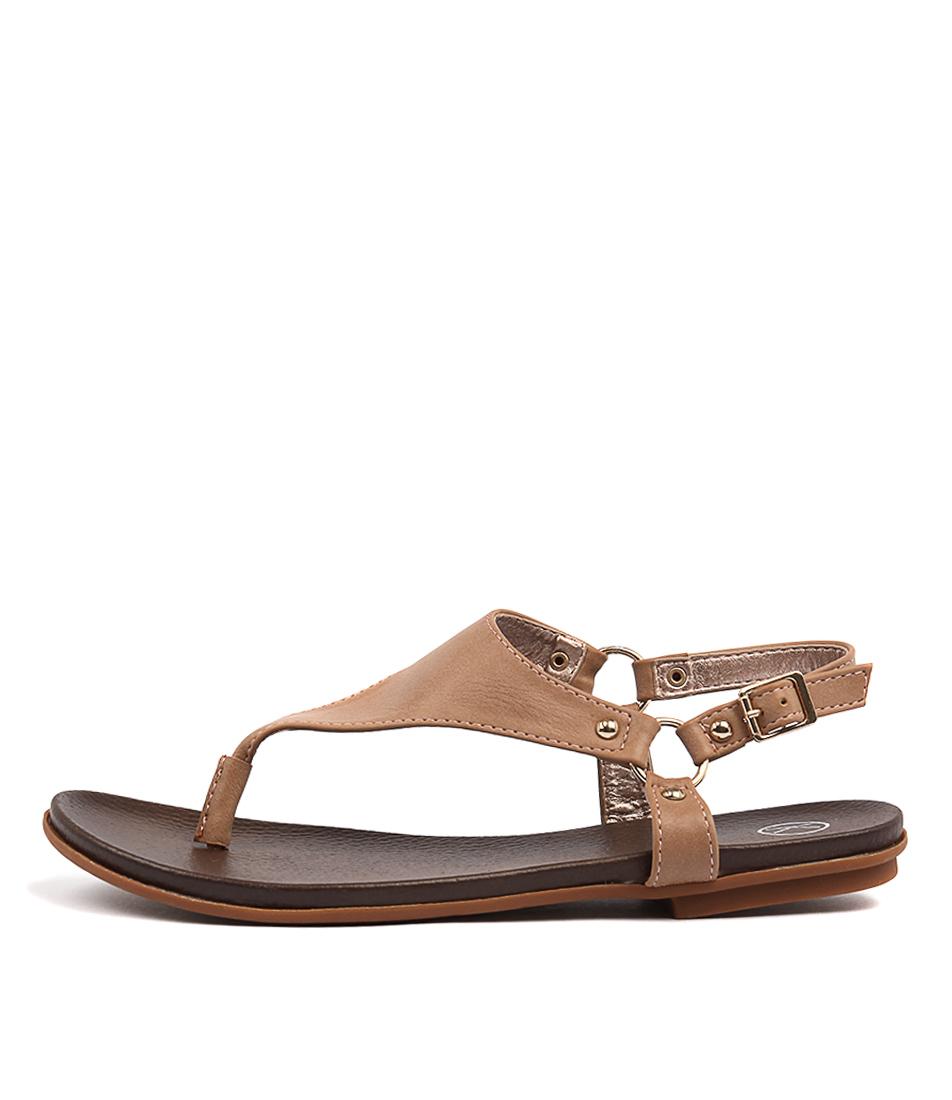 Ko Fashion Aprille Blush Sandals
