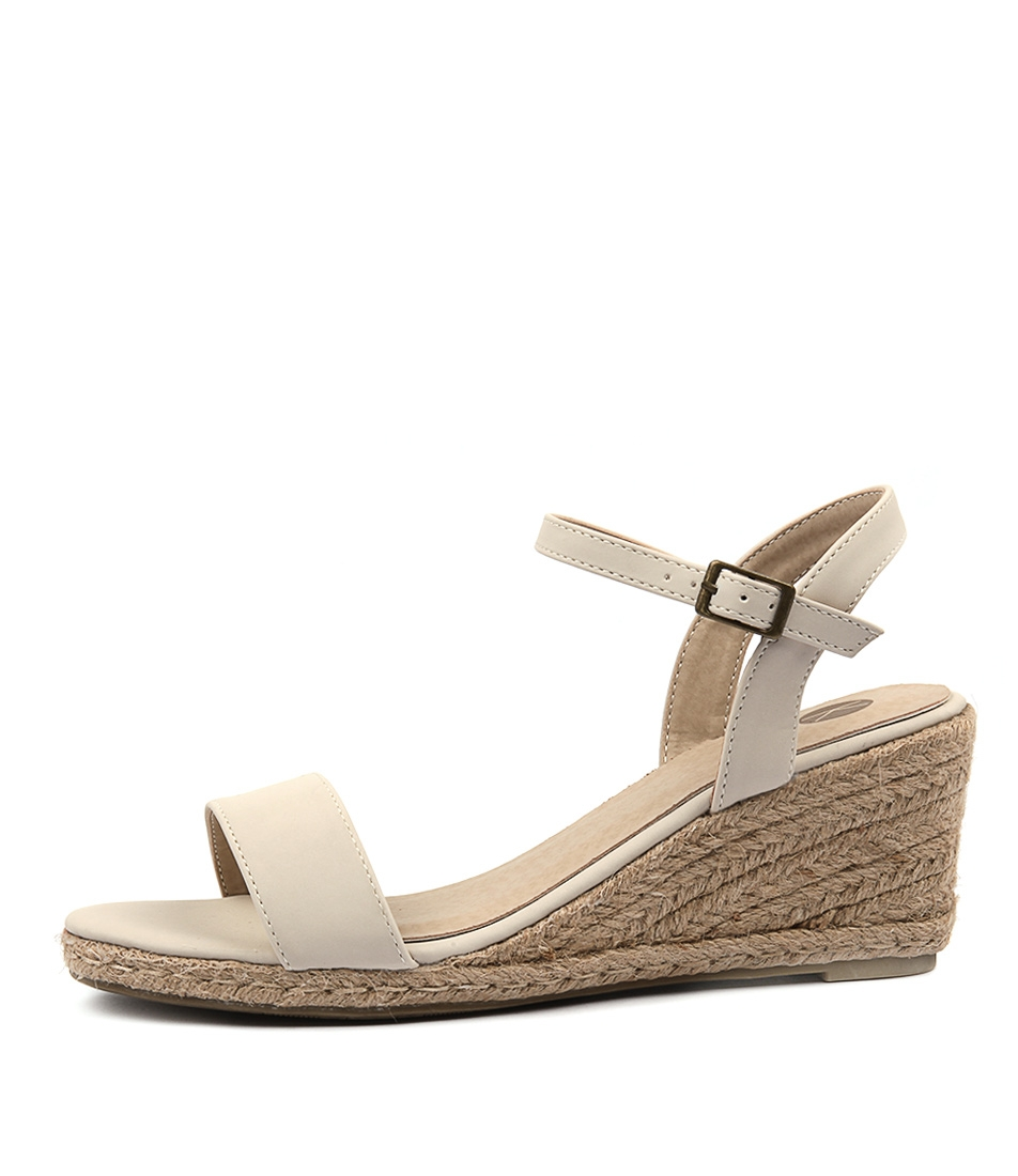 Buy Ko Fashion Amos Kf Beige Heeled Sandals online with free shipping