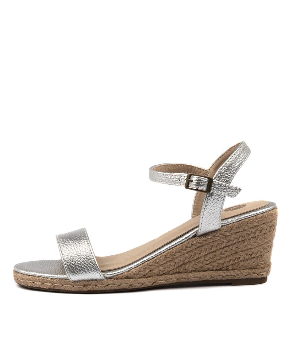Ko Fashion Amos Kf Silver Sandals