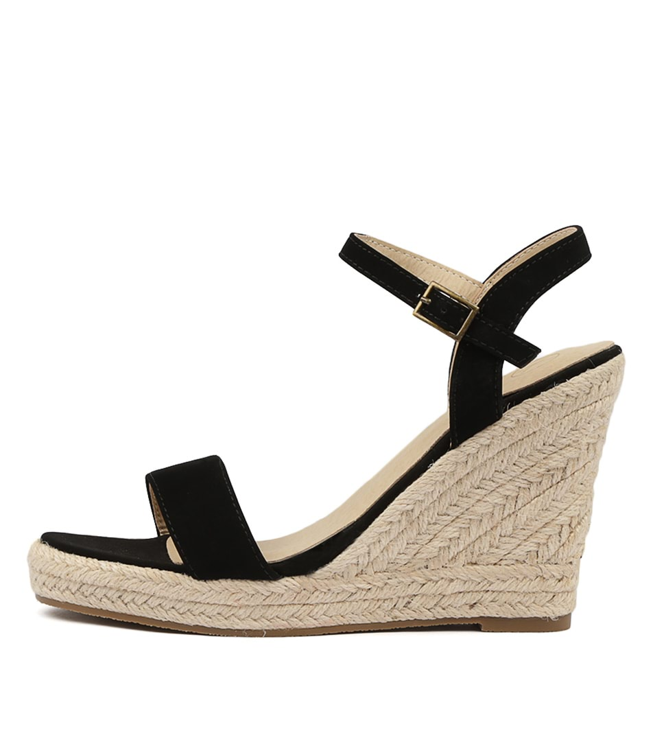 Buy Ko Fashion Penelopy Black Heeled Sandals online with free shipping