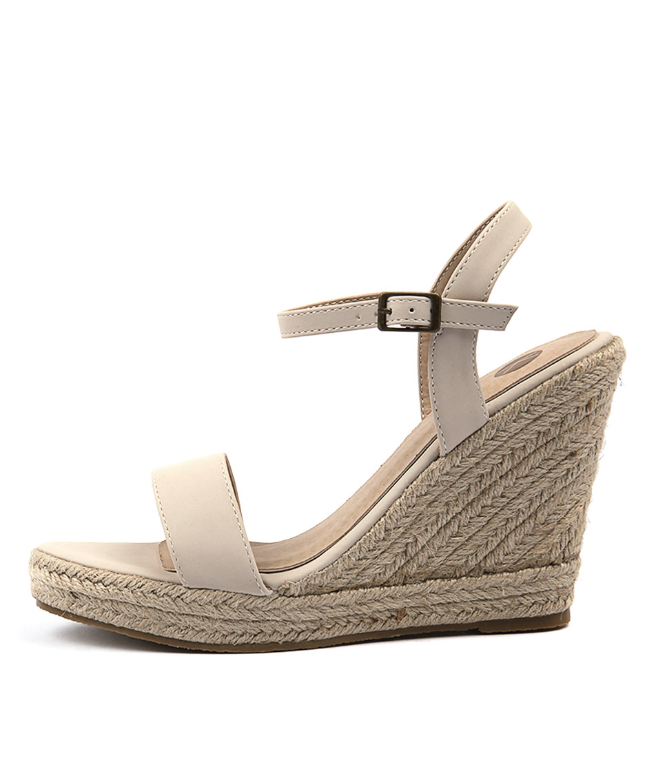 Buy Ko Fashion Penelopy Beige Heeled Sandals online with free shipping