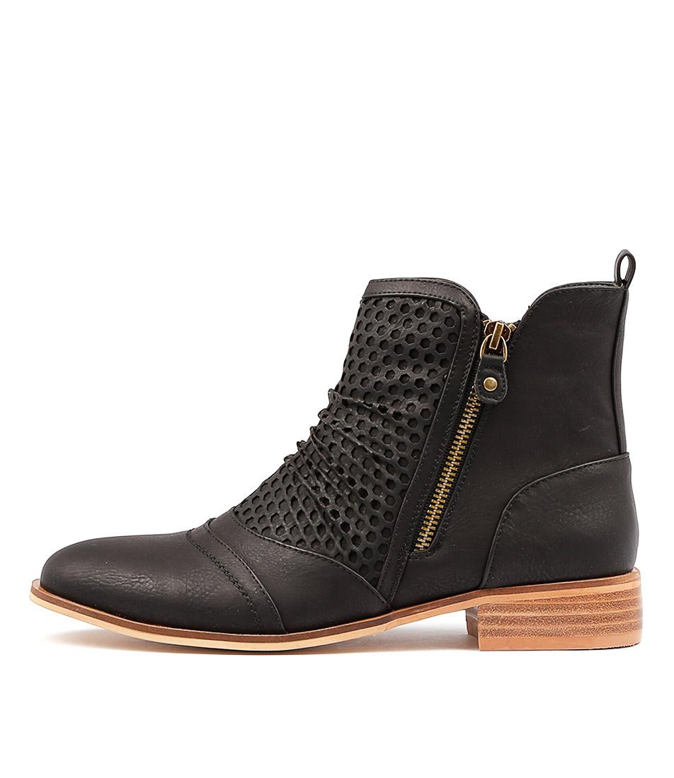 Ko Fashion Buchan W Black Ankle Boots