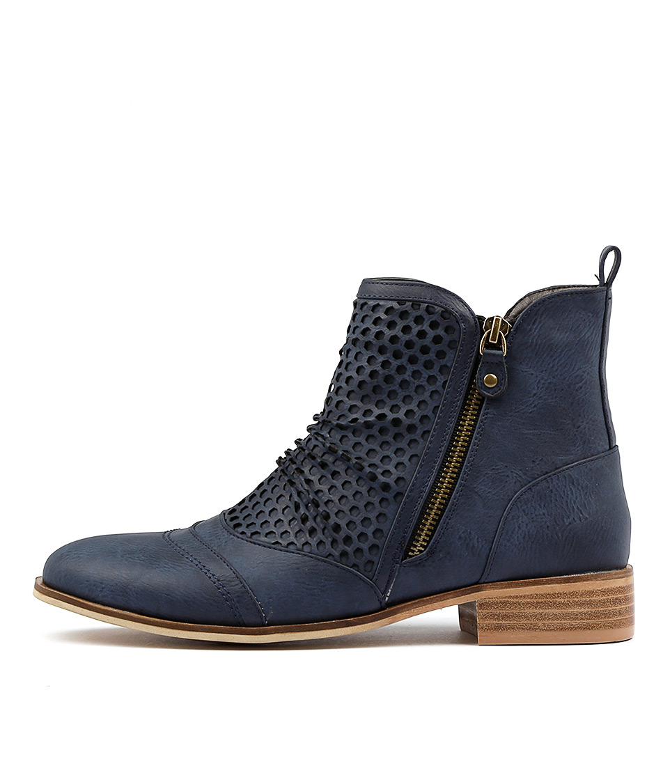 Ko Fashion Buchan W Indigo Ankle Boots