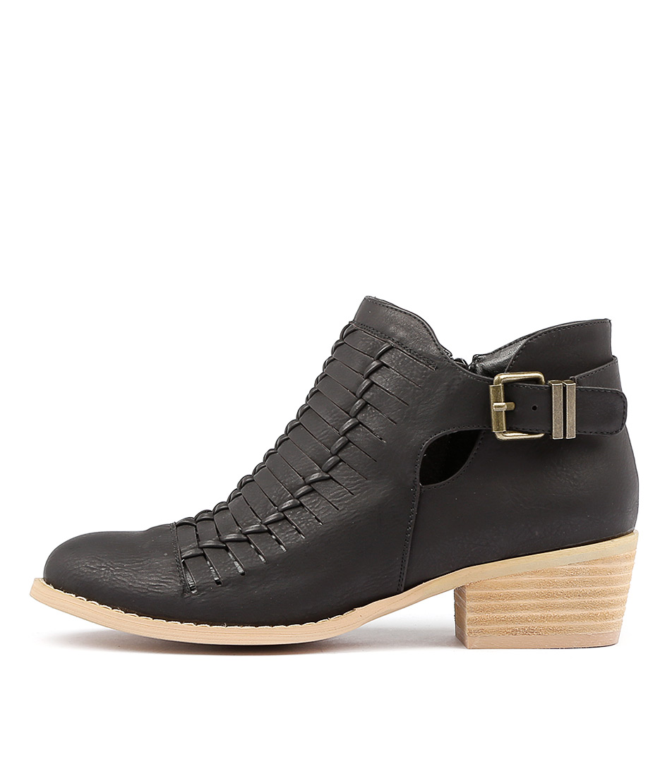 Ko Fashion Edgy W Black Ankle Boots