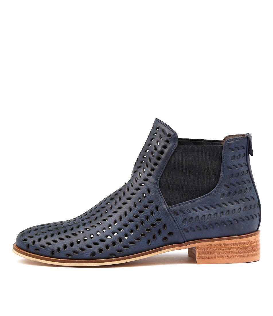 Ko Fashion Brie W Indigo Ankle Boots