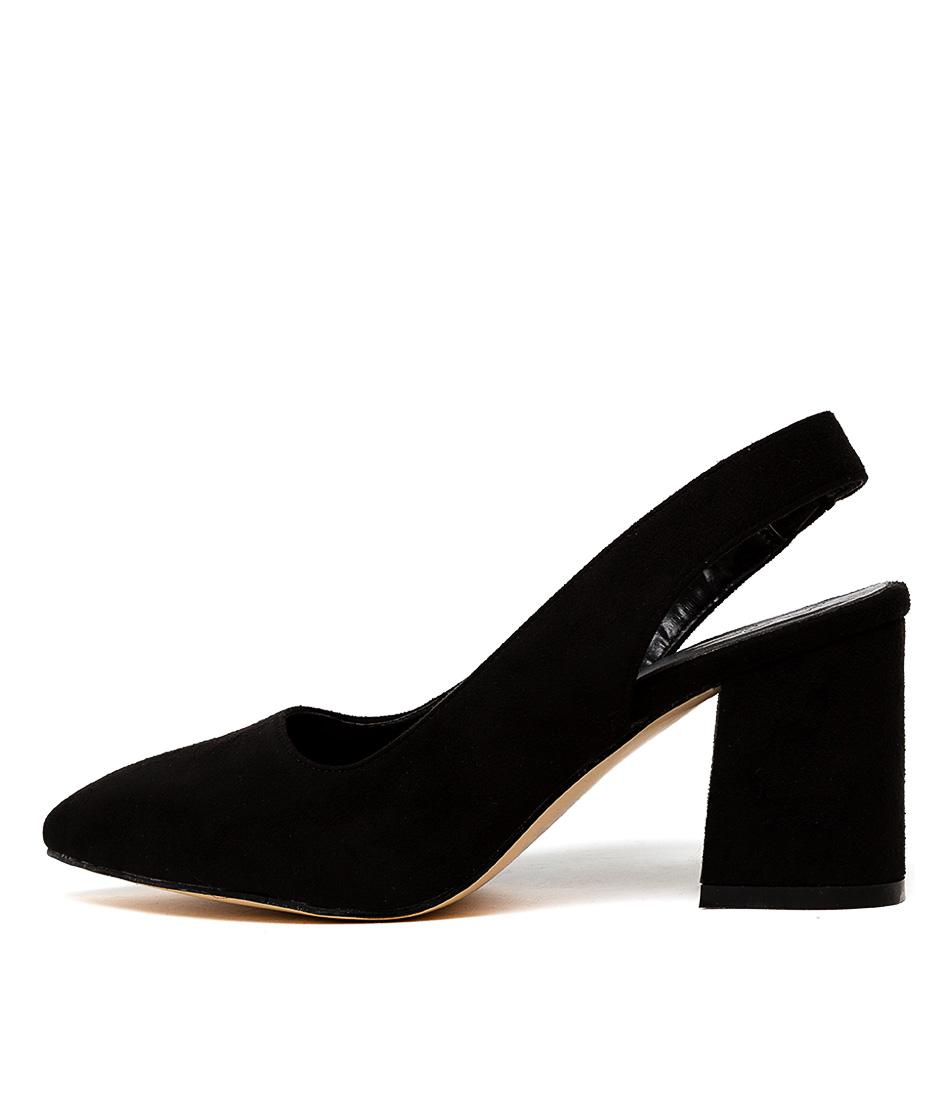 Buy Ko Fashion Sweetness Kf Black High Heels online with free shipping