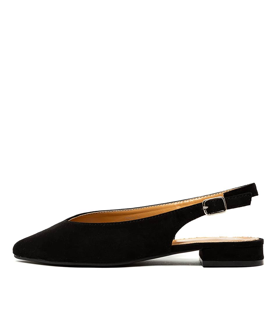Buy Ko Fashion Pippa Kf Black Flats online with free shipping