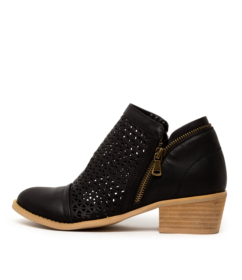 Buy Ko Fashion Erika Kf Black Ankle Boots online with free shipping