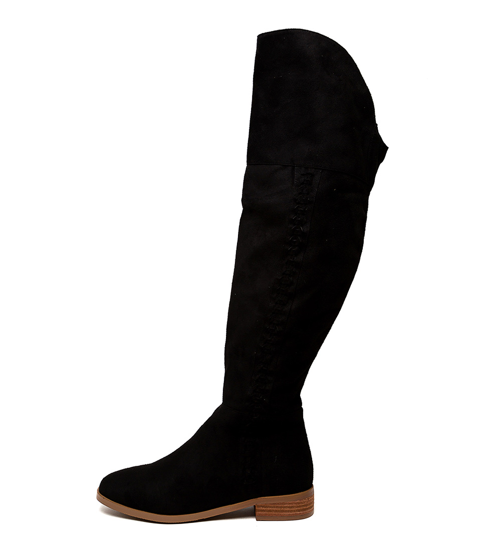Buy Ko Fashion Fab Kf Black Long Boots online with free shipping