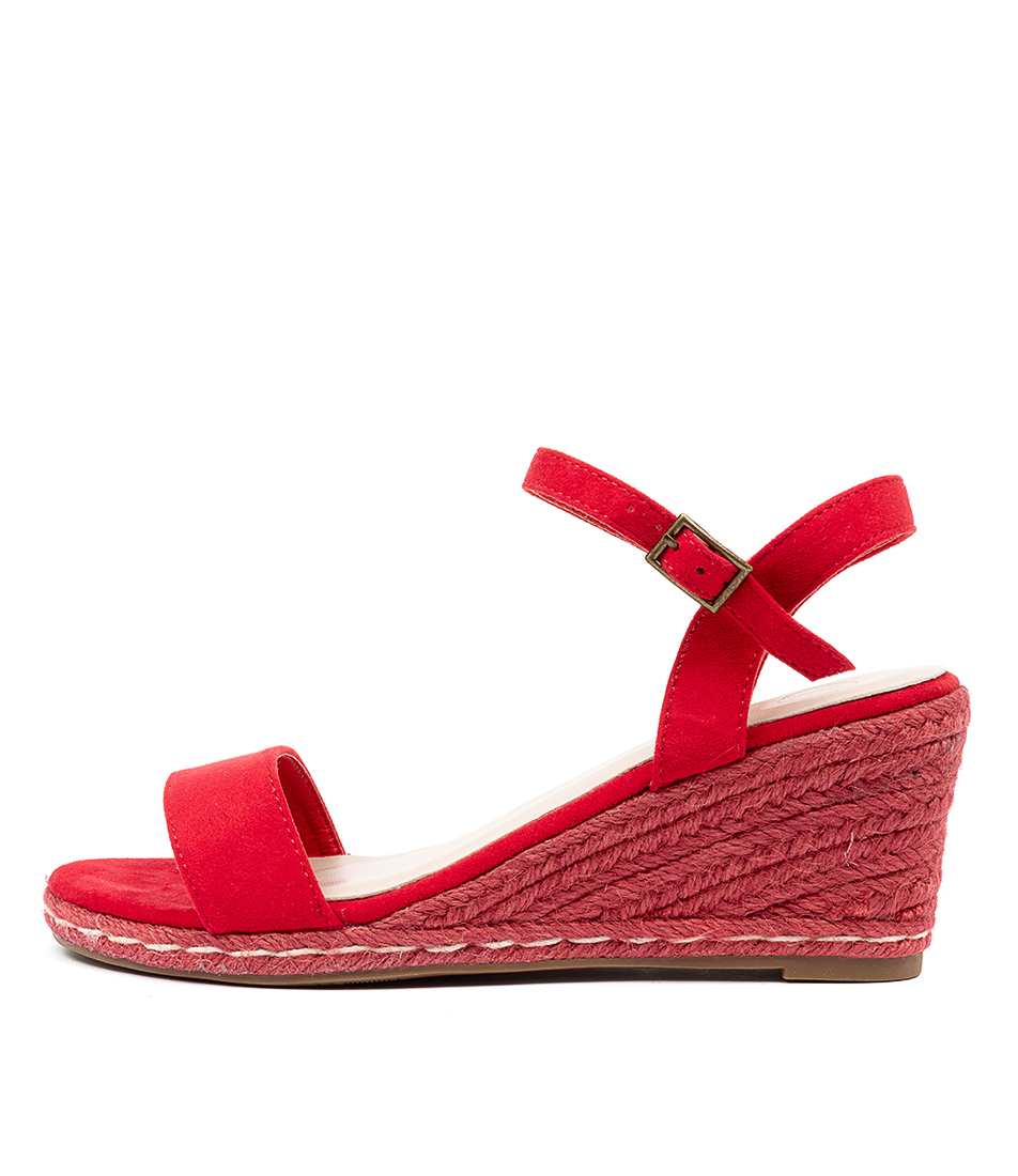 Buy Ko Fashion Arielle W Kf Red Heeled Sandals online with free shipping
