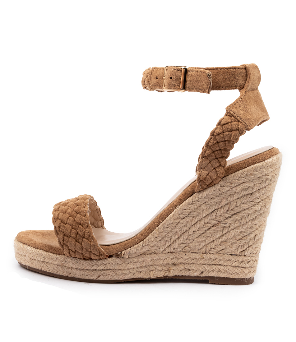 Buy Ko Fashion Pistol W Kf Beige Heeled Sandals online with free shipping
