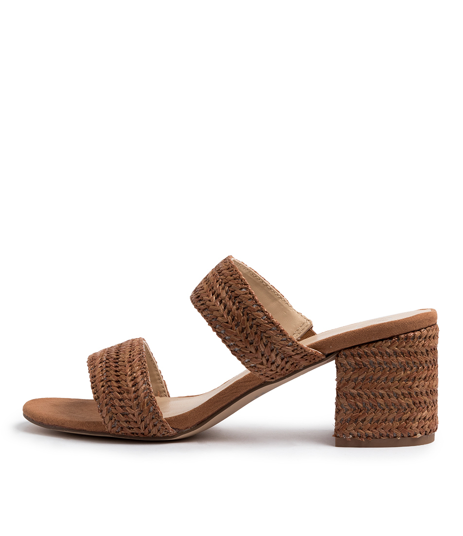 Buy Ko Fashion Rizzo W Kf Tan Heeled Sandals online with free shipping