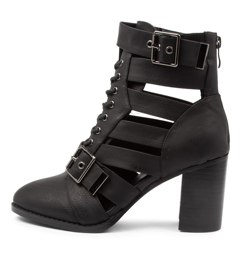 Buy Ko Fashion Vamp Kf Black Ankle Boots online with free shipping