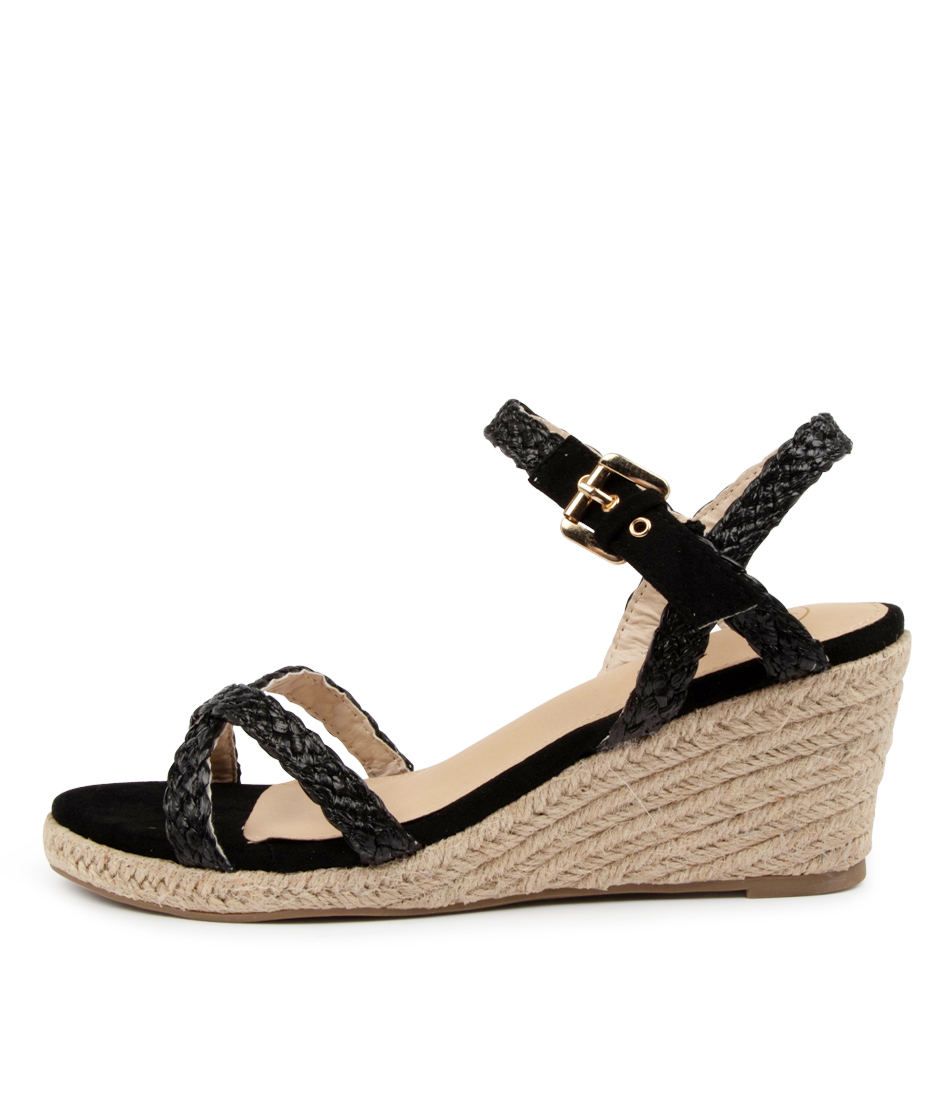 Buy Ko Fashion Olay W Kf Black Heeled Sandals online with free shipping
