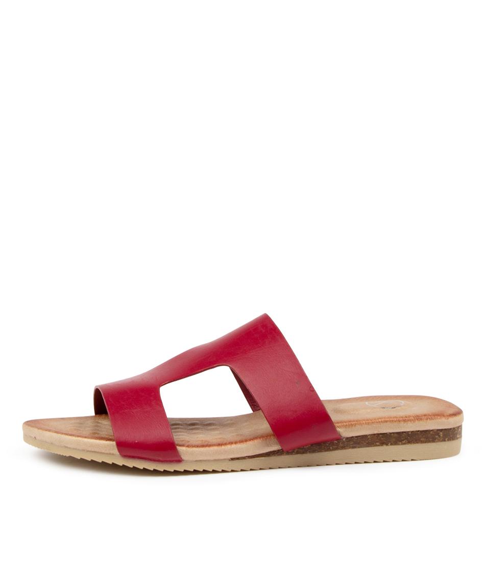 Buy Ko Fashion Kupi Kf Fuchsia Heeled Sandals online with free shipping