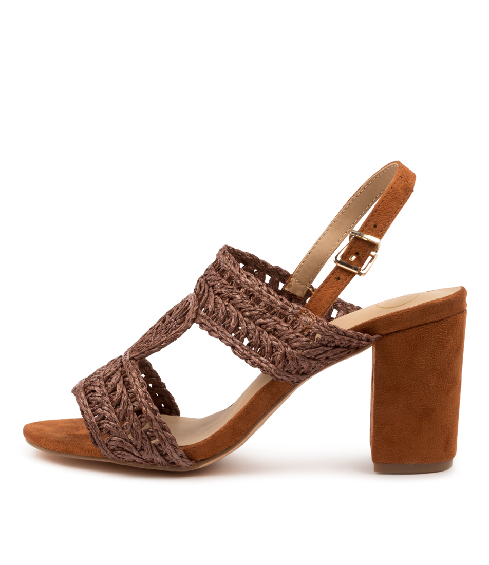 Buy Ko Fashion Money Kf Brandy Heeled Sandals online with free shipping