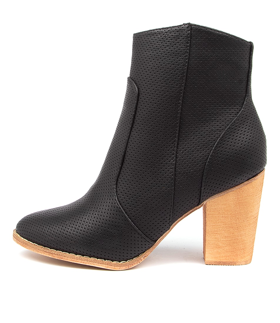 Buy Ko Fashion Joie Kf Black Ankle Boots online with free shipping