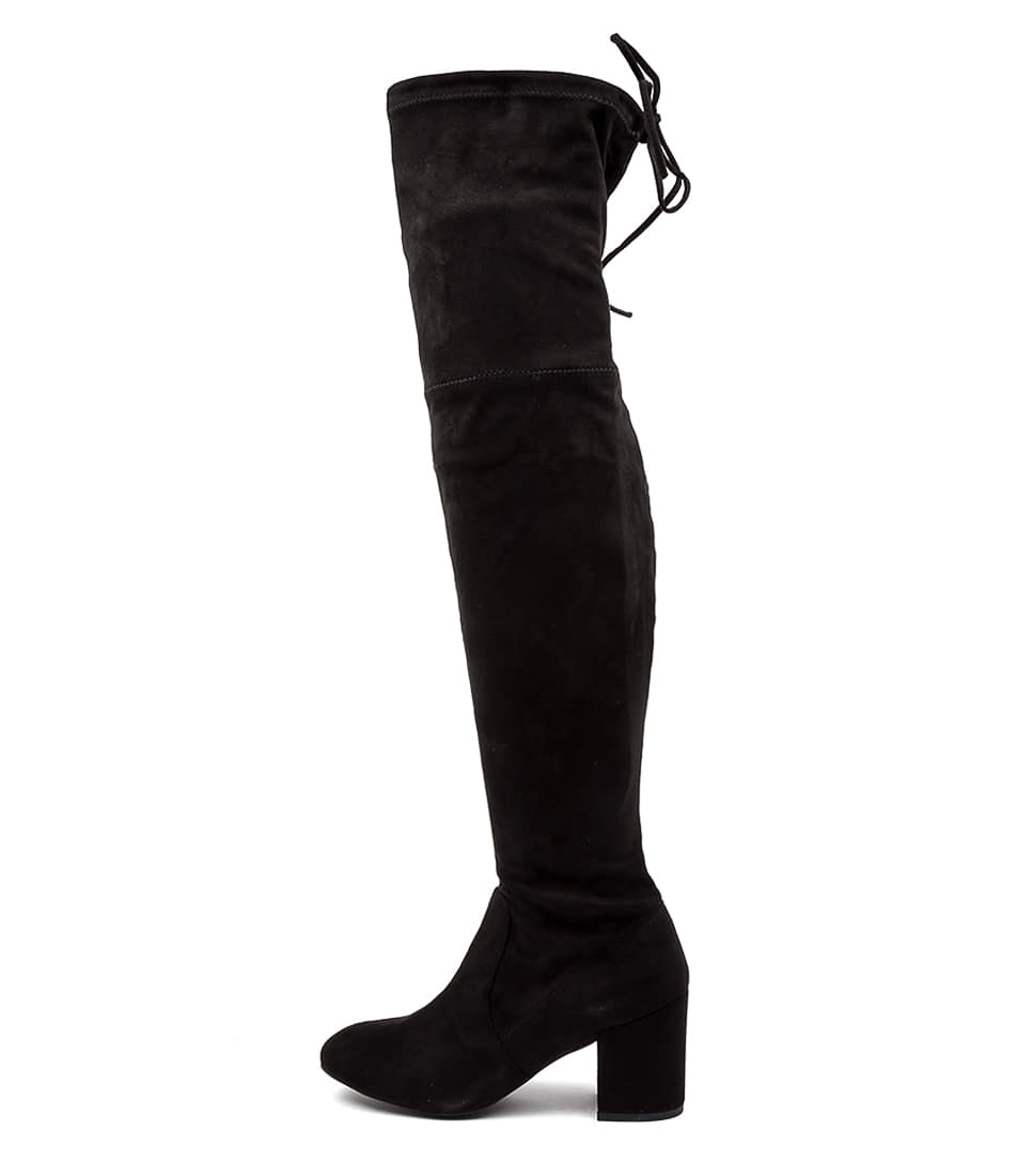 Buy Ko Fashion Laura Kf Black Long Boots online with free shipping