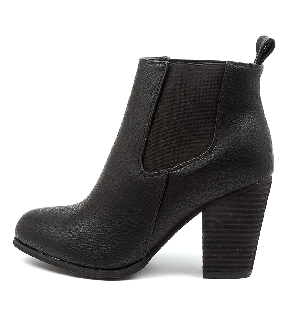 Buy Ko Fashion Tease Kf Black Ankle Boots online with free shipping