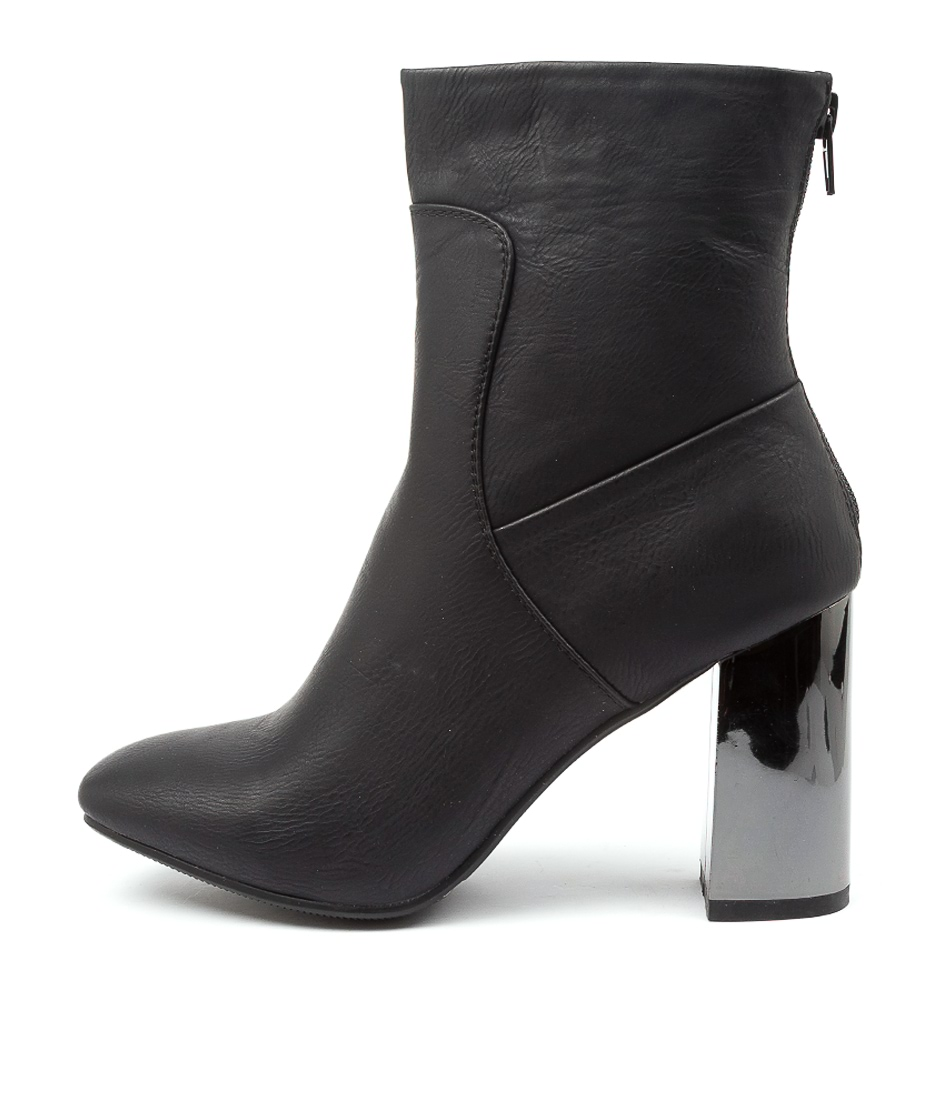Buy Ko Fashion Missile Kf Black Ankle Boots online with free shipping