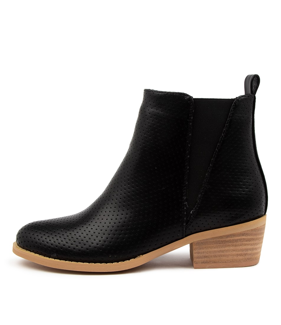 Buy Ko Fashion Ellery Boot Kf Black Ankle Boots online with free shipping