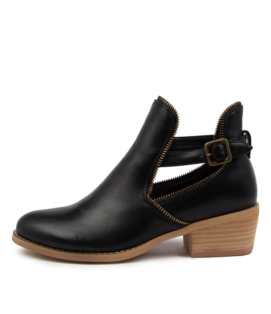Buy Ko Fashion Ego Boot Kf Black Ankle Boots online with free shipping