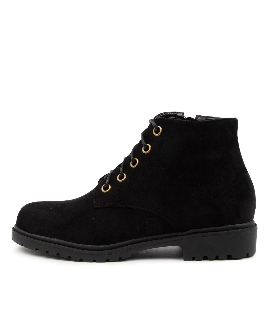 Buy Ko Fashion Xavier Boot Kf Black Ankle Boots online with free shipping