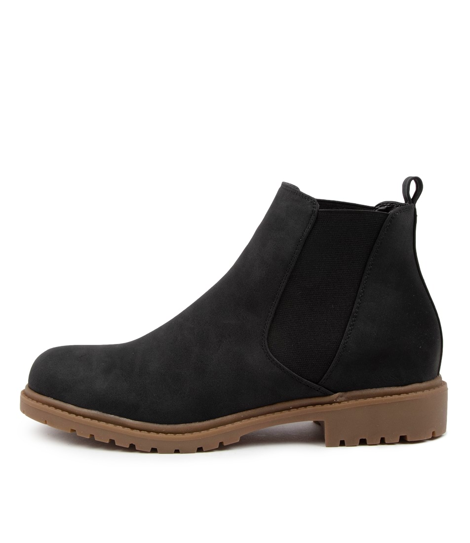 Buy Ko Fashion Xenya Boot Kf Black Ankle Boots online with free shipping