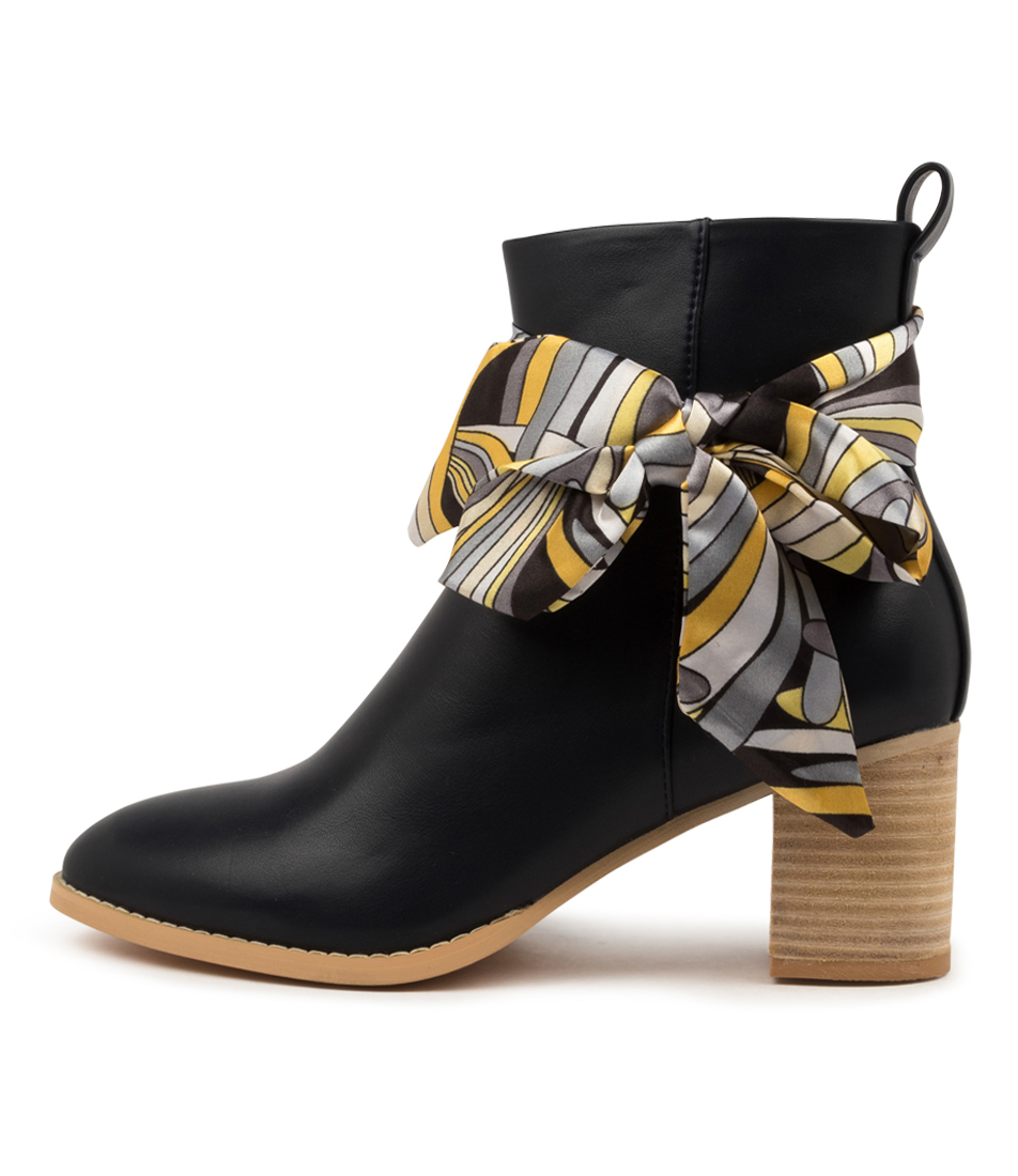 Buy Ko Fashion Silky Boot Kf Navy Ankle Boots online with free shipping