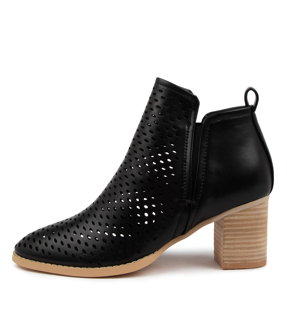 Buy Ko Fashion Seattle Boot Kf Black Ankle Boots online with free shipping