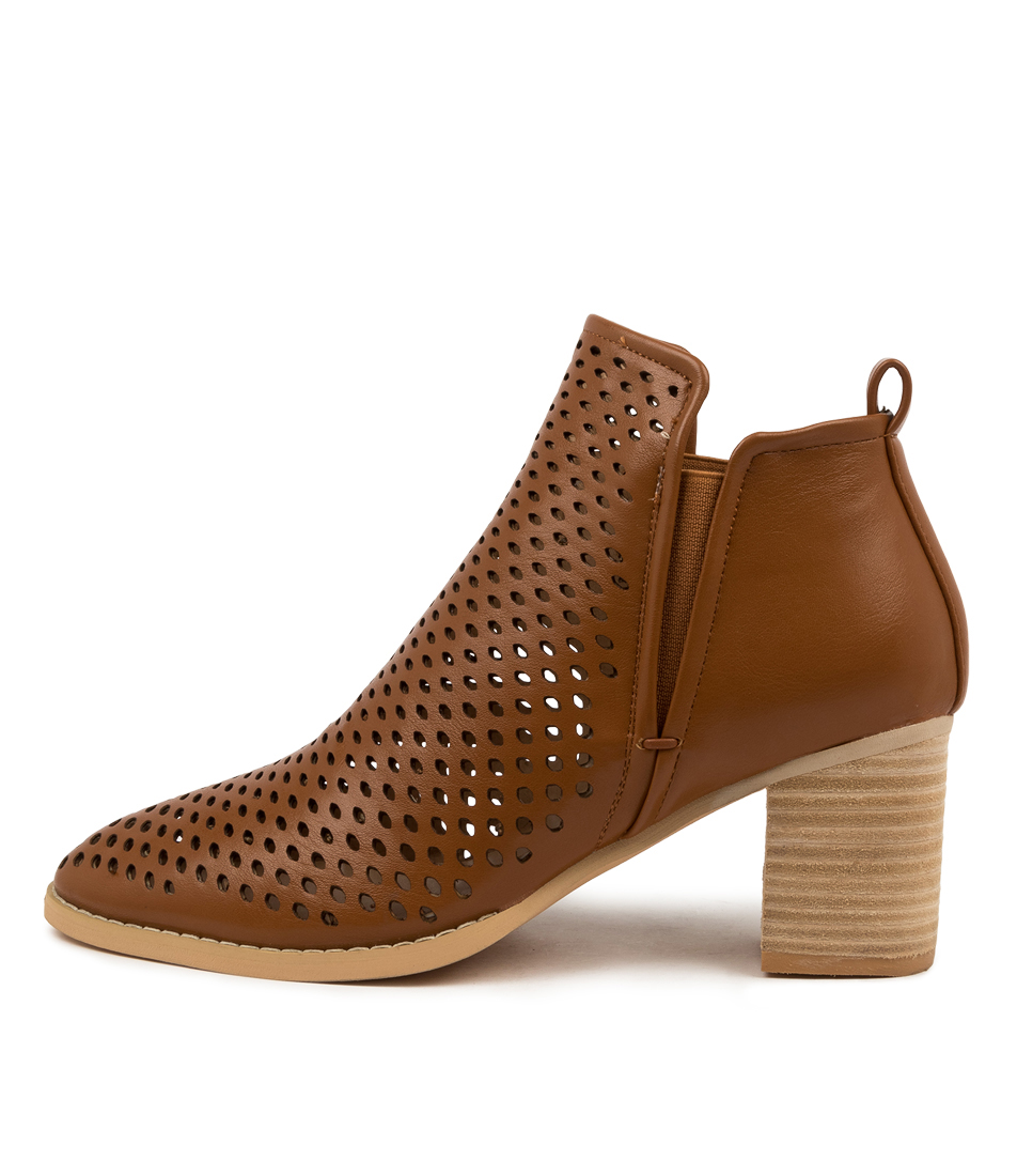 Buy Ko Fashion Seattle Boot Kf Tan Ankle Boots online with free shipping