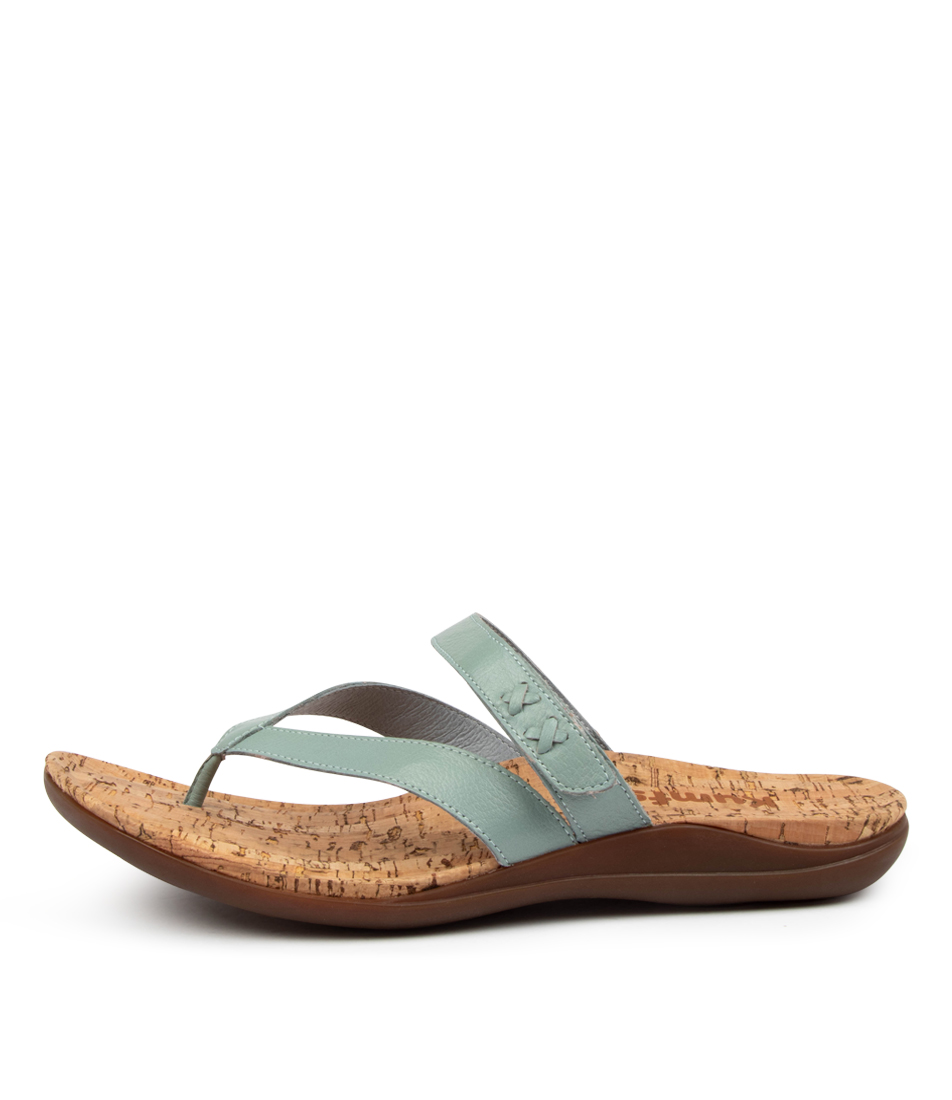 Buy Kumfs Meril Km Lt Denim Flat Sandals online with free shipping